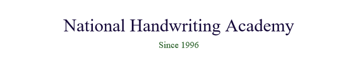 National Handwriting Academy