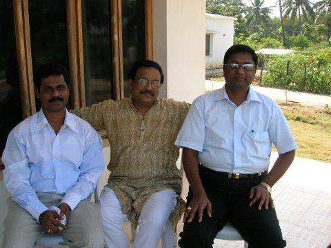with Yandamuri Veerendranath & Prof. Suresh